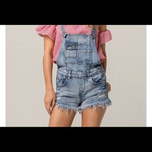 ALMOST FAMOUS SIZE 13 OVERALLS